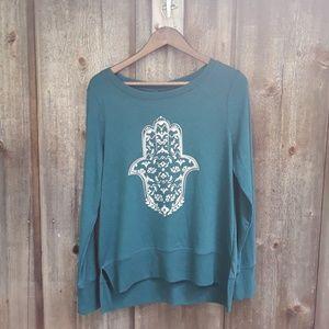 Gaiam Yoga Sweatshirt Size Medium
